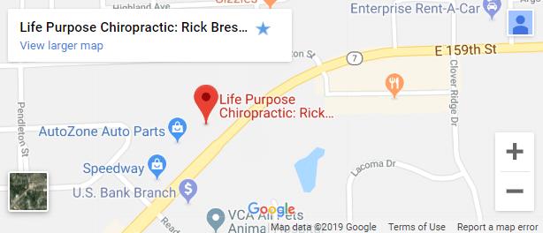 Map of Lockport Chiropractors